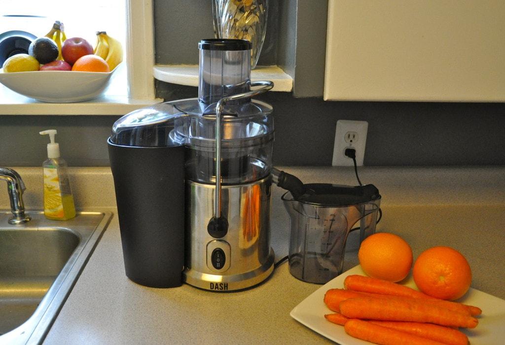 Carrot Orange Juice - Dash Juicer