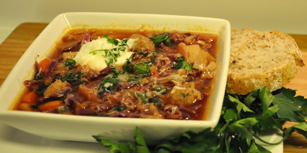 Sausage Cabbage Soup