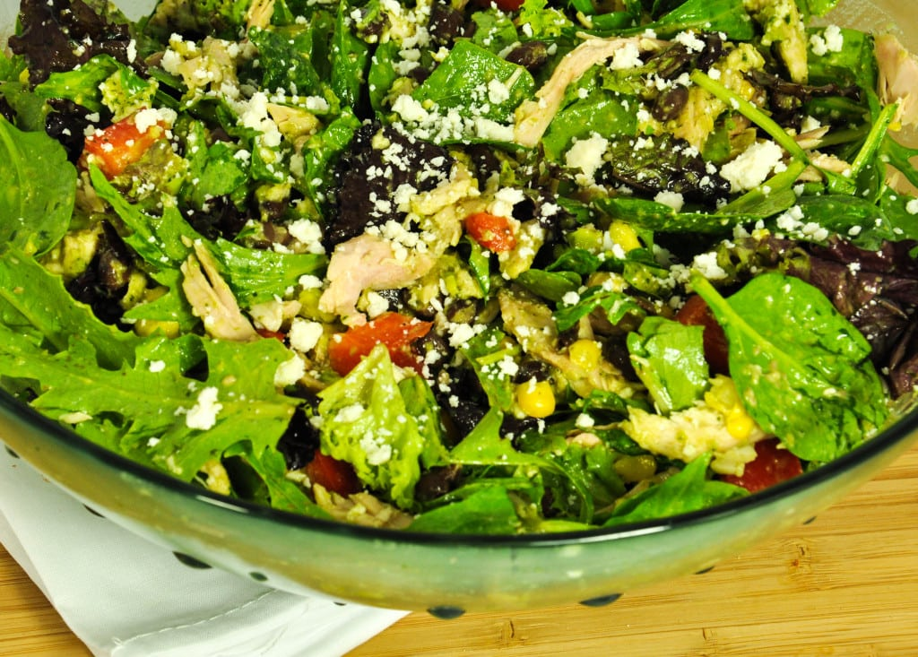 Salad with Jalapeño Lime Dressing