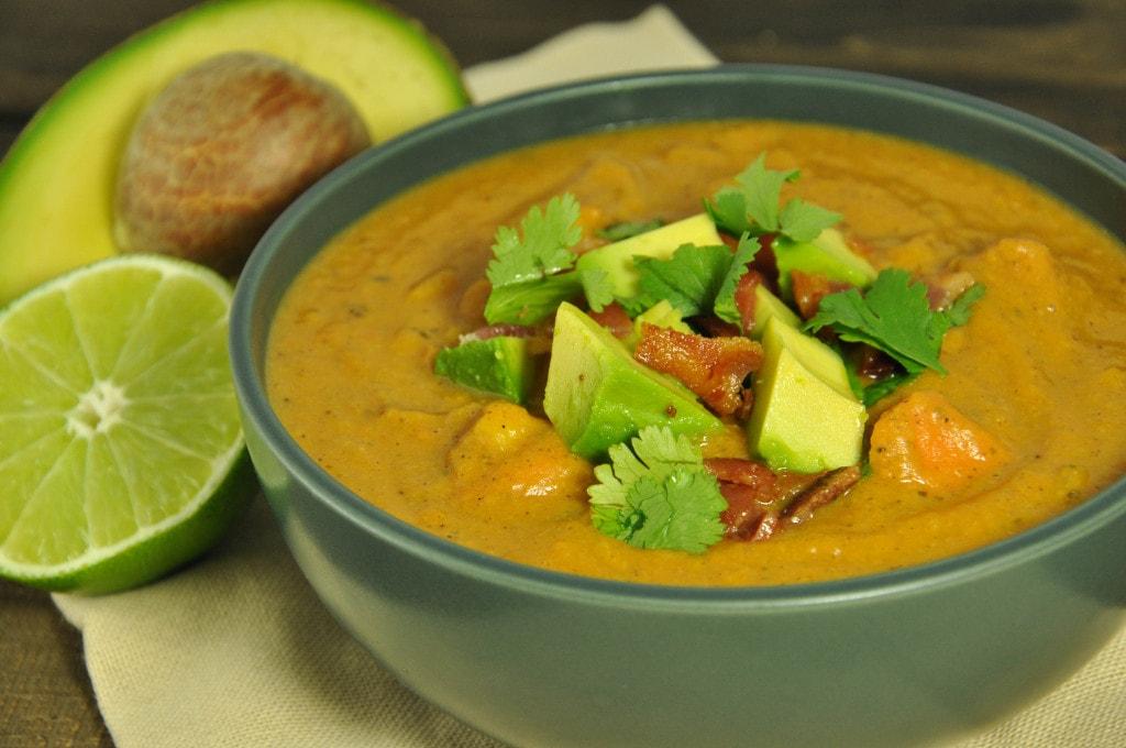 Sweet Potato Soup -34