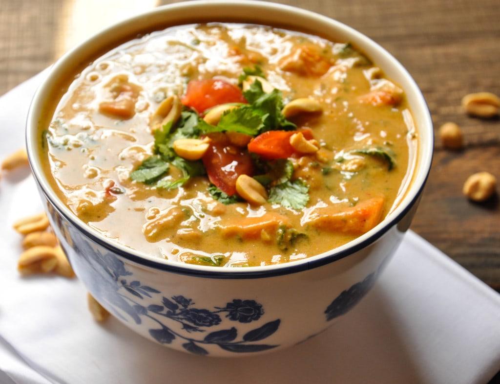 African Peanut Soup-43