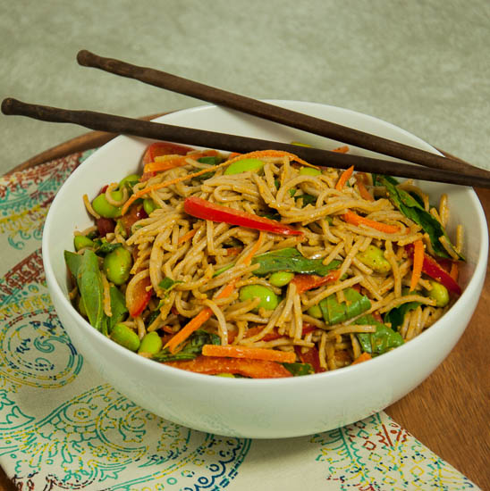 Soba Noodles with Peanut Sauce-49