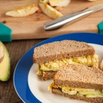 These creamy avocado egg salad sandwiches are mayo free and full of tasty heart healthy fats instead!