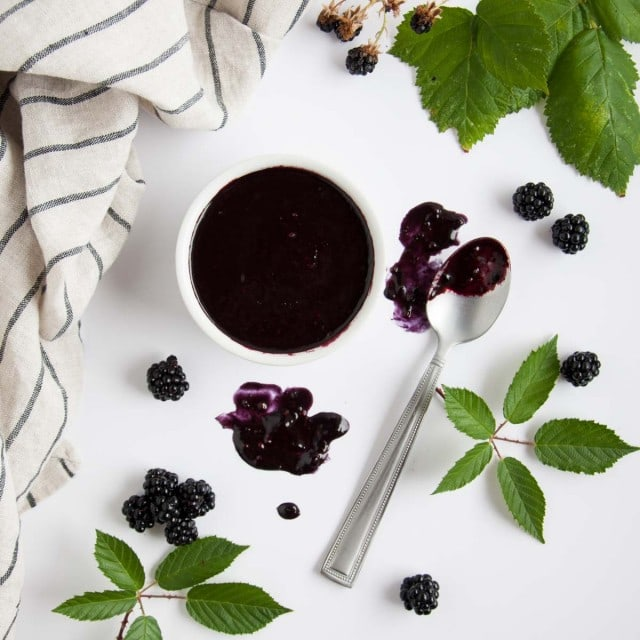 This tangy blackberry vinaigrette has just the right balance of sweet and savory to rock your tastebuds with a fresh new use for summertime blackberries.