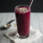 I'm in love with this beet smoothie! Its delicious, high in protein and has the perfect amount of sweetness to balance out the earthiness of the beets.