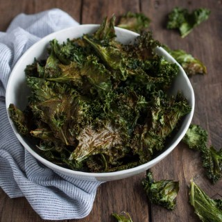 Cajun Roasted Kale Chips