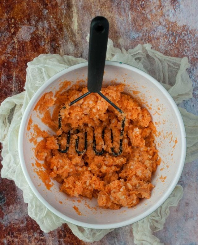 Sweet Potato Mash Food Processor