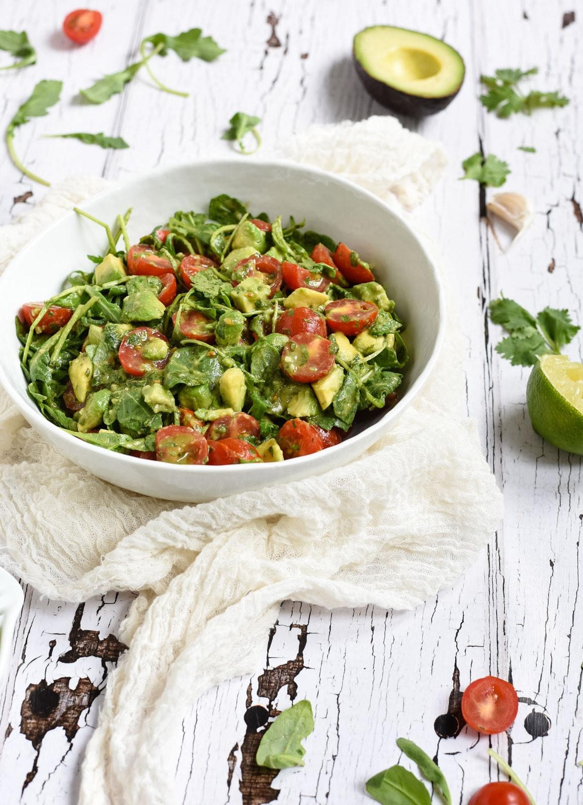 cilantro lime salad photo