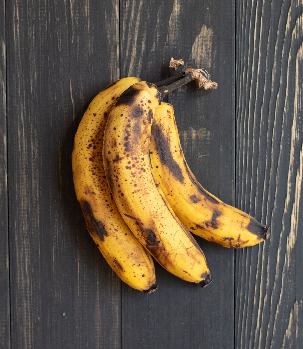 overripe banana bunch